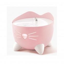 PS Cat Head Shape Dish Pink 5in