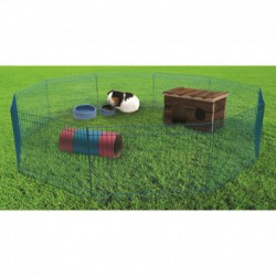 Cage de jeux LW p. furets, Vert-V